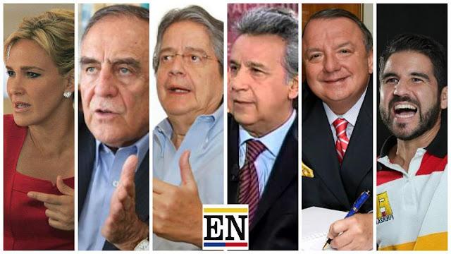 resultado ultimas encuentas presidenciales ecuador 2017