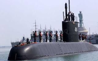 kapal selam KRI Ardadedali-404