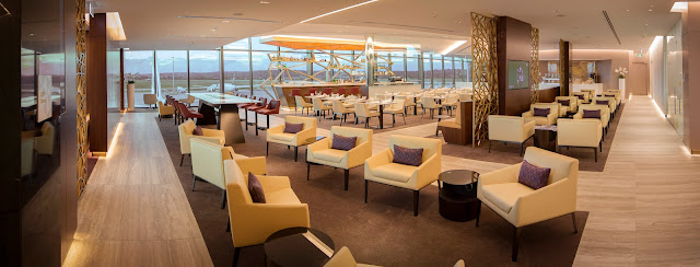 Etihad Airways' new premium lounge opens at Melbourne Airport