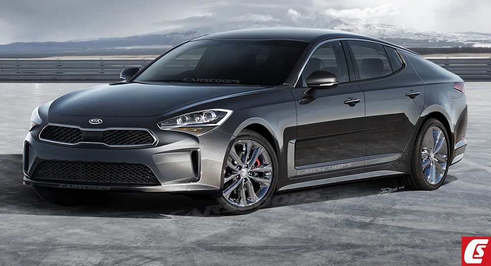 Future Cars Kia S Gt Rwd Sports Sedan Could Bring The Fight