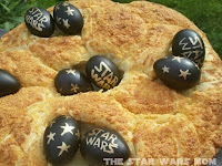 Star Wars Garlic Cheese Italian Easter Bread
