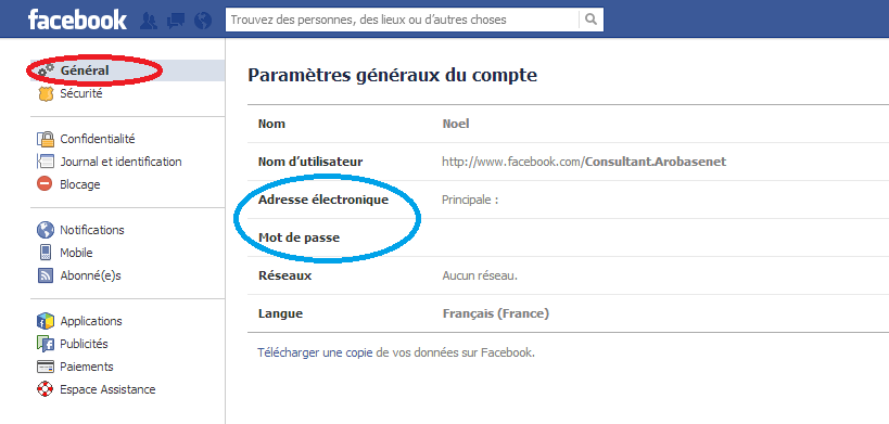 comment securiser son compte Facebook