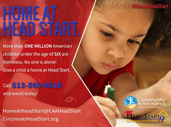 Home At Head Start - More than ONE MILLION American Children Under Age SIX Are Homeless