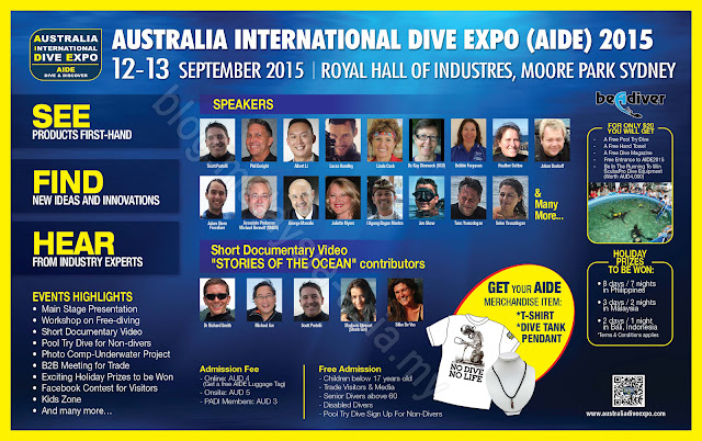 AIDE Australia International Dive Expo 2015