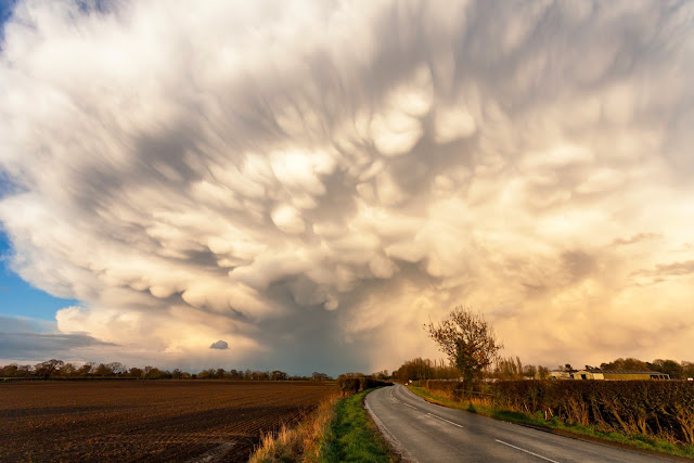 Storm clouds over Yorkshire