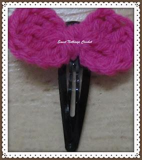 free tic tac clip crochet pattern