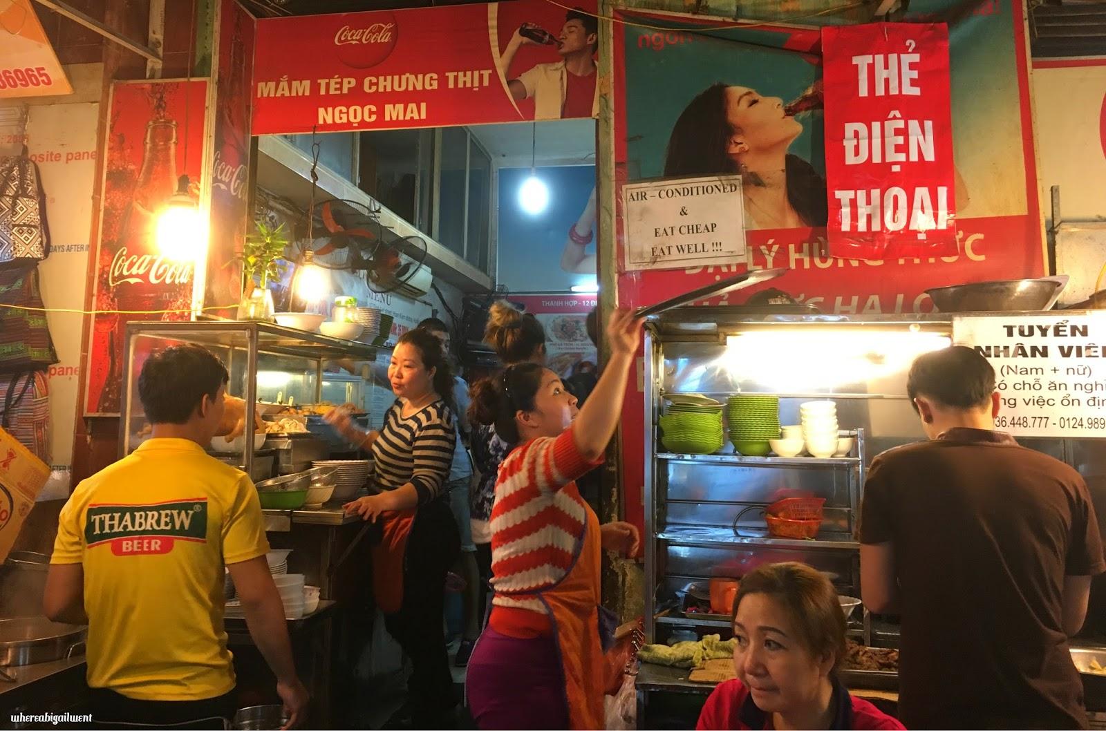 Best Bun Cha Restaurant Old Quarter Hanoi