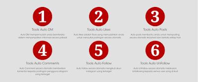Fitur tools marketing untuk instagram