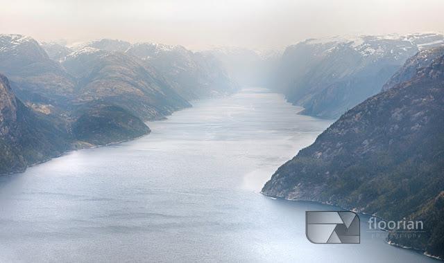 Wspaniały widok na fiordy