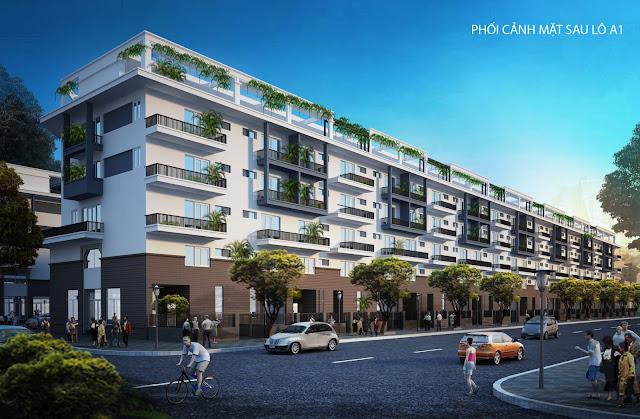 Phối cảnh liền kề dự án Mon Bay Hạ Long