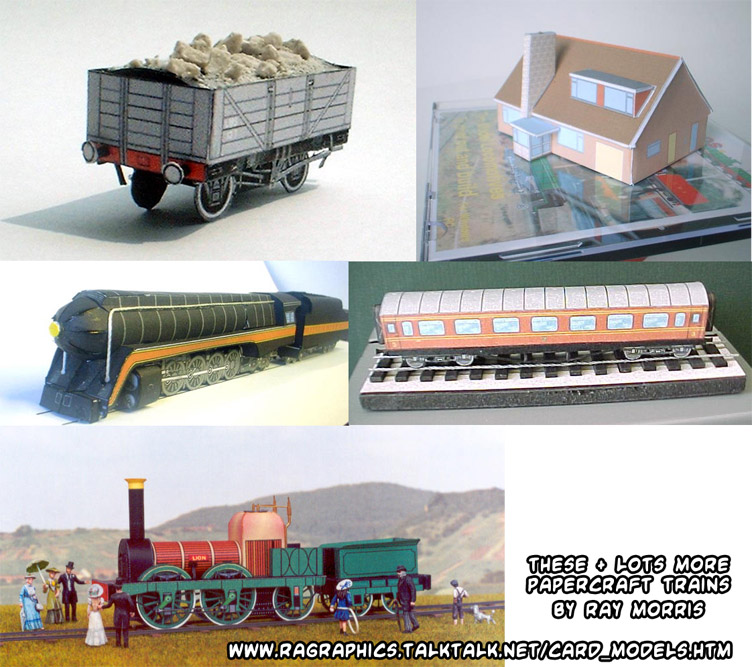 Paper Model Railroad Buildings Manufacturers