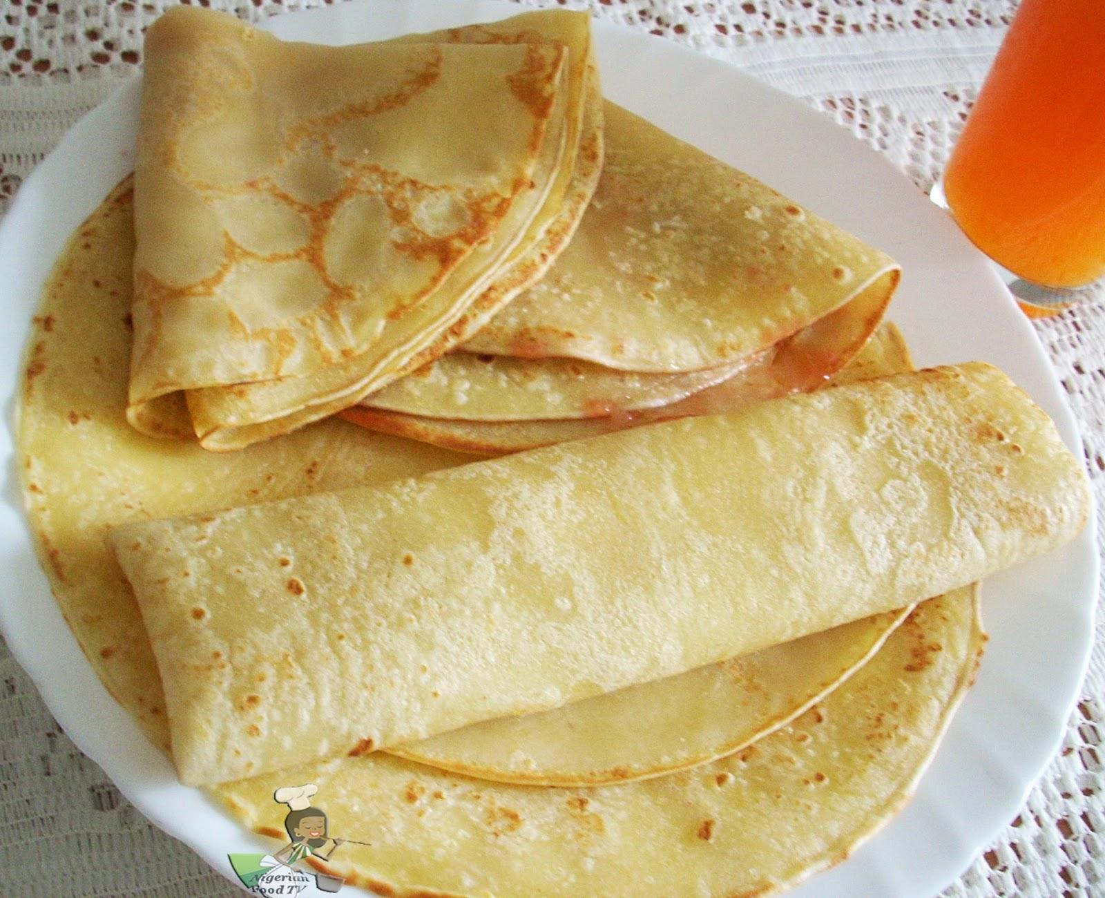 Nigerian Pancake Recipe: How to Make Nigerian Pancake