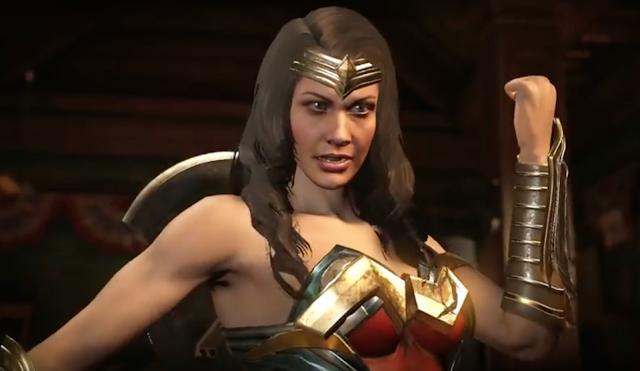 Nuevo gameplay de Injustice 2 con Wonder Woman