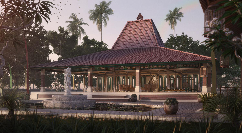 100+ Gambar Rumah Adat Jawa Joglo Terbaru