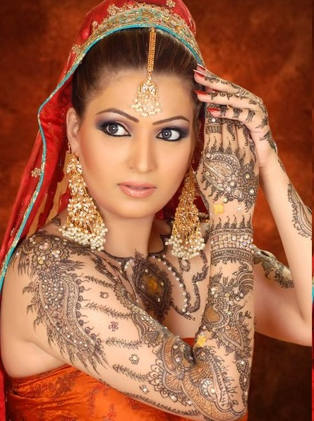 Beautiful Henna Tattoo Designs For Your Wrist: Mehndi Wedding Design: Arabic Beautiful Mehndi Tattoos