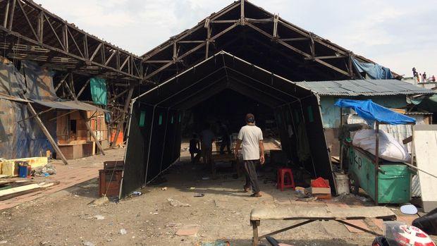 Bangunan Asli Pasar Ikan Luar Batang Tak Diratakan dengan Tanah