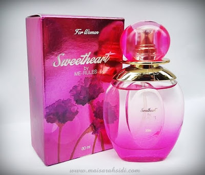 minyak wangi sweetheart