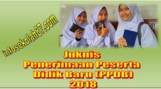 Juknis Penerimaan Peserta Didik Baru (PPDB) Madrasah Tahun 2018