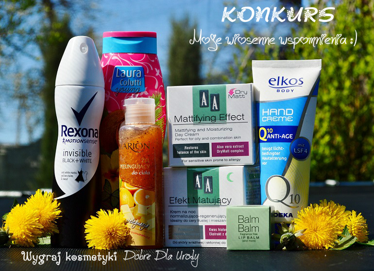 Wiosenny konkurs z nagrodami - wygraj kosmetyki do twarzy i ciała