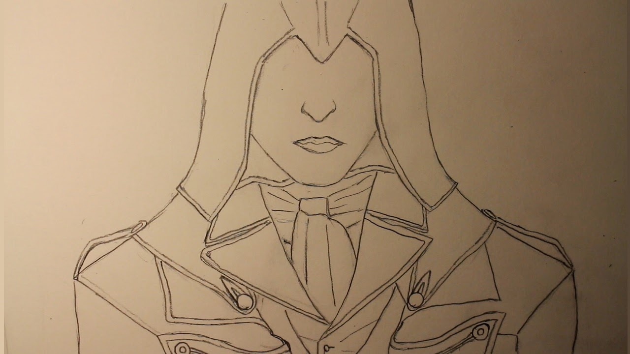 Drawwasp How To Draw Arno Dorian From Assassin S Creed Unity A