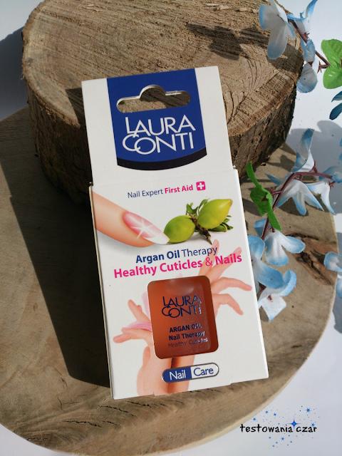 Wypielęgnowane paznokcie i skórki dzięki odżywczemu olejkowi arganowymu LAURA CONTI