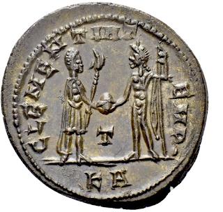 ضرب روماني  جميل للامبراطور بروبوس 1