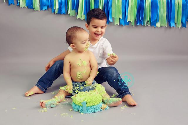 Sessão Smash The Cake Primeiro Aniversário 011