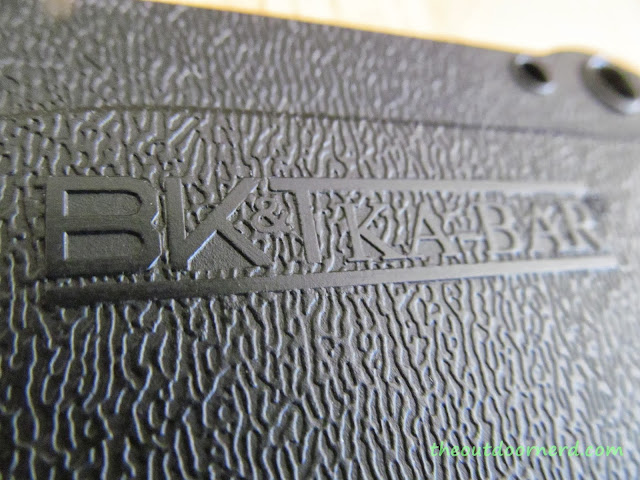 Ka-Bar Becker BK14 Eskabar Fixed Blade Knife: Closeup Of Sheath 2