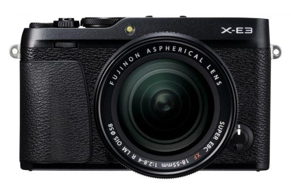 Fujifilm X-E3, вид спереди