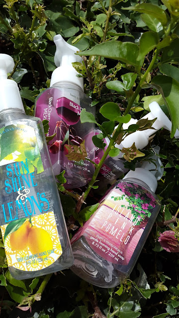 Bath & Body Works Gentle Foaming hand soaps - www.modenmakeup.com