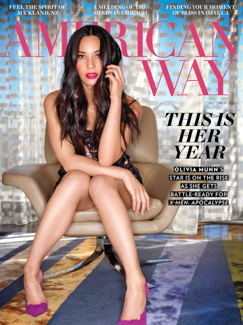 Olivia Munn | American Way US May 2016