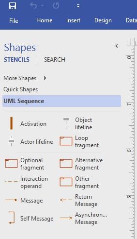 Cara Membuat Sequence diagram menggunakan Visio 2016