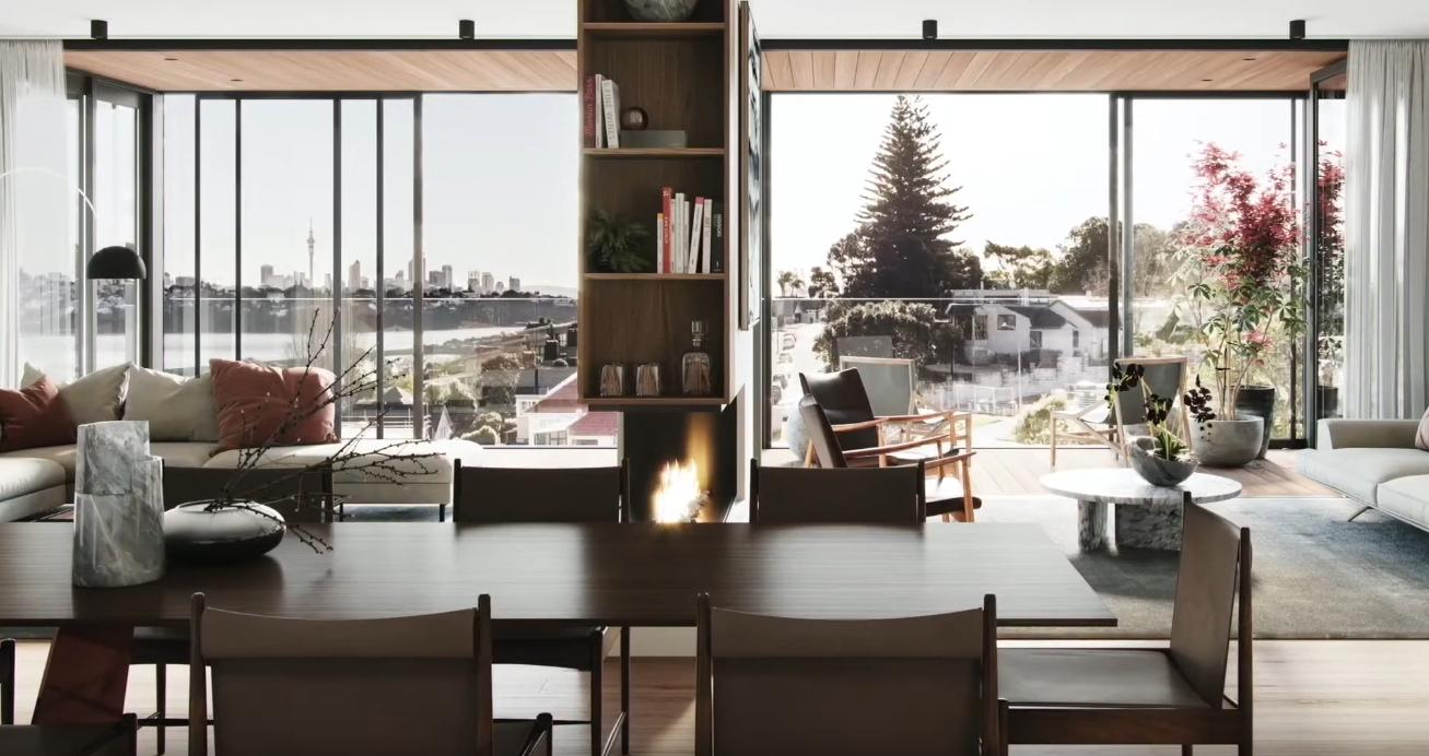12 Photos vs. Satori - 27 Grace Street, Orakei, Auckland City vs. Condo Interior Design Tour