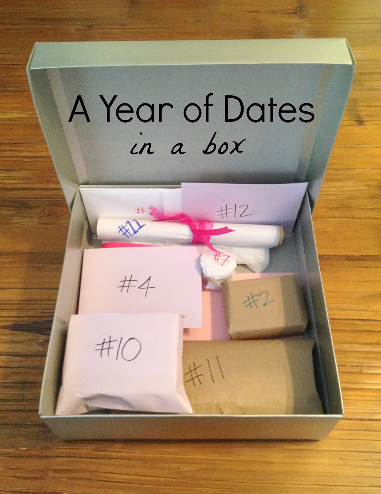 One year dating gift for him
