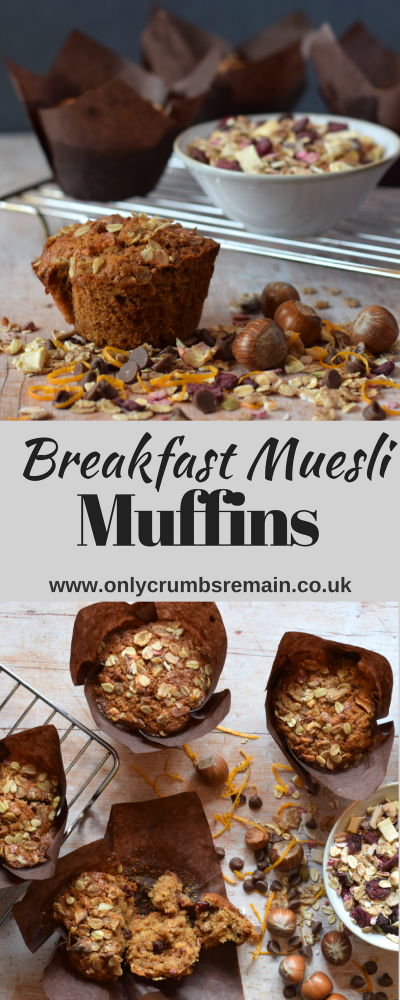 Find out how to make Breakfast Muesli Muffins, which are packed with goodness courtesy of your chosen muesli cereal, wholemeal spelt flour and Panela an unrefined sugar which brings a lovely depth of colour to these easy muffins.