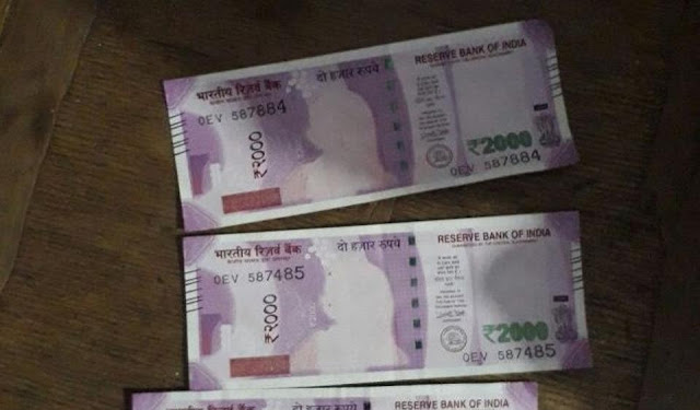 MP Farmers receive Rs 2000 notes with missing Mahatma Gandhi's image; bank  says it was printing error