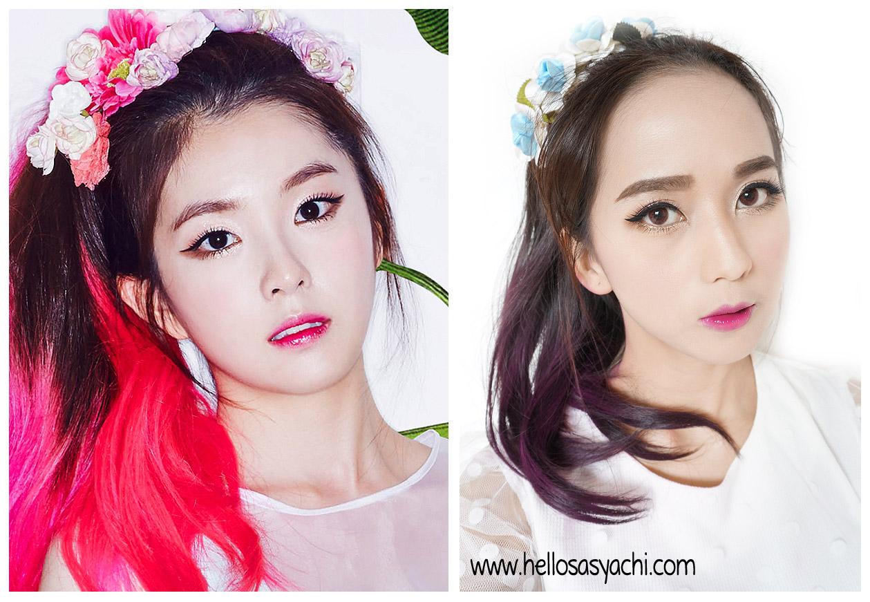 Red Velvet No Makeup Ranking Blue Winged Eyeliner 43 Red Velvet