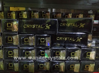 jual crystal x asli nasa