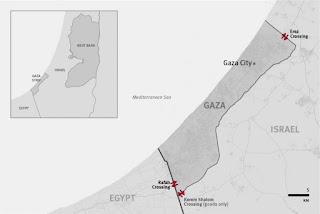 Gaza Strip rafah israel