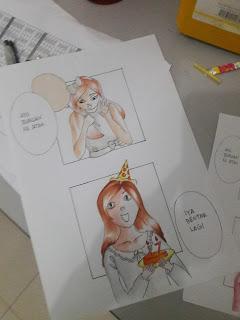 Belajar manga