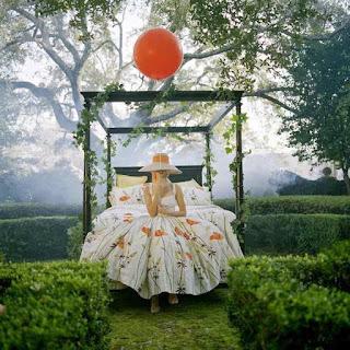 Karmic Debt 26, numerology, karma, how to deal with karma, girl, baloons, garden, magic, alone, dress