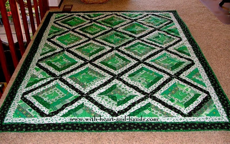 Michele Bilyeu Creates *With Heart and Hands*: St. Patrick's Day ... : shamrock quilt patterns - Adamdwight.com