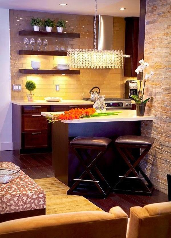 Fotos de hermosas cocinas pequeñas modernas - Colores en Casa