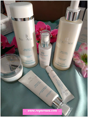 paket skin care Novage bright sublime 1 set