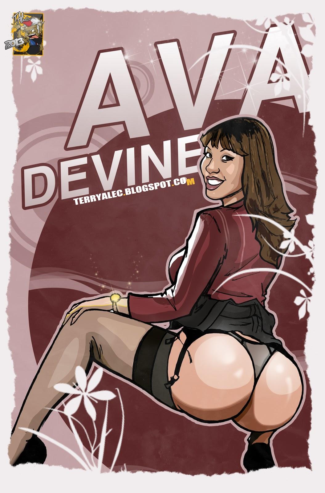 Ava Devine terry alec comics: ava devine