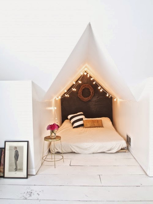 Dreams And Wishes: Fairy Lights For Girly Rooms