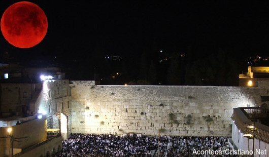 Luna de Sangre e Israel