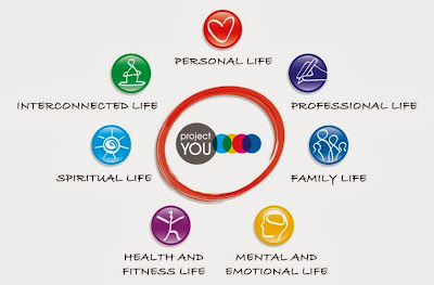 The Project You Life Journey covers 7 key areas of your life