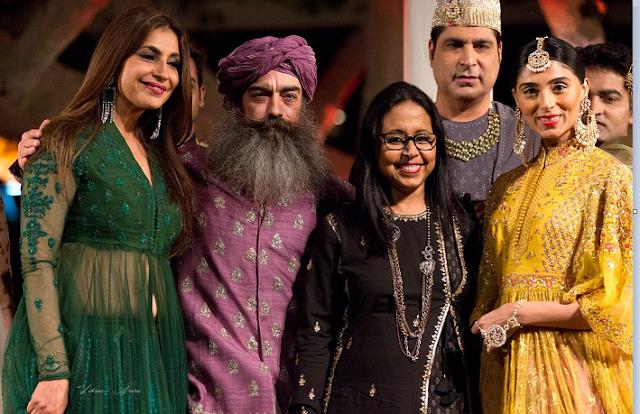 Tanisha Mohan, Daljit Sean Singh, Anju Modi, Nawab Kazim Ali Khan and Pernia Qureshi
