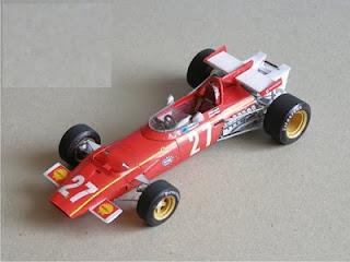 Ferrari 312B  - Jacky Ickx & Clay Regazzoni-  Italian & Belgium GP 1970 (FT) NEW LINK